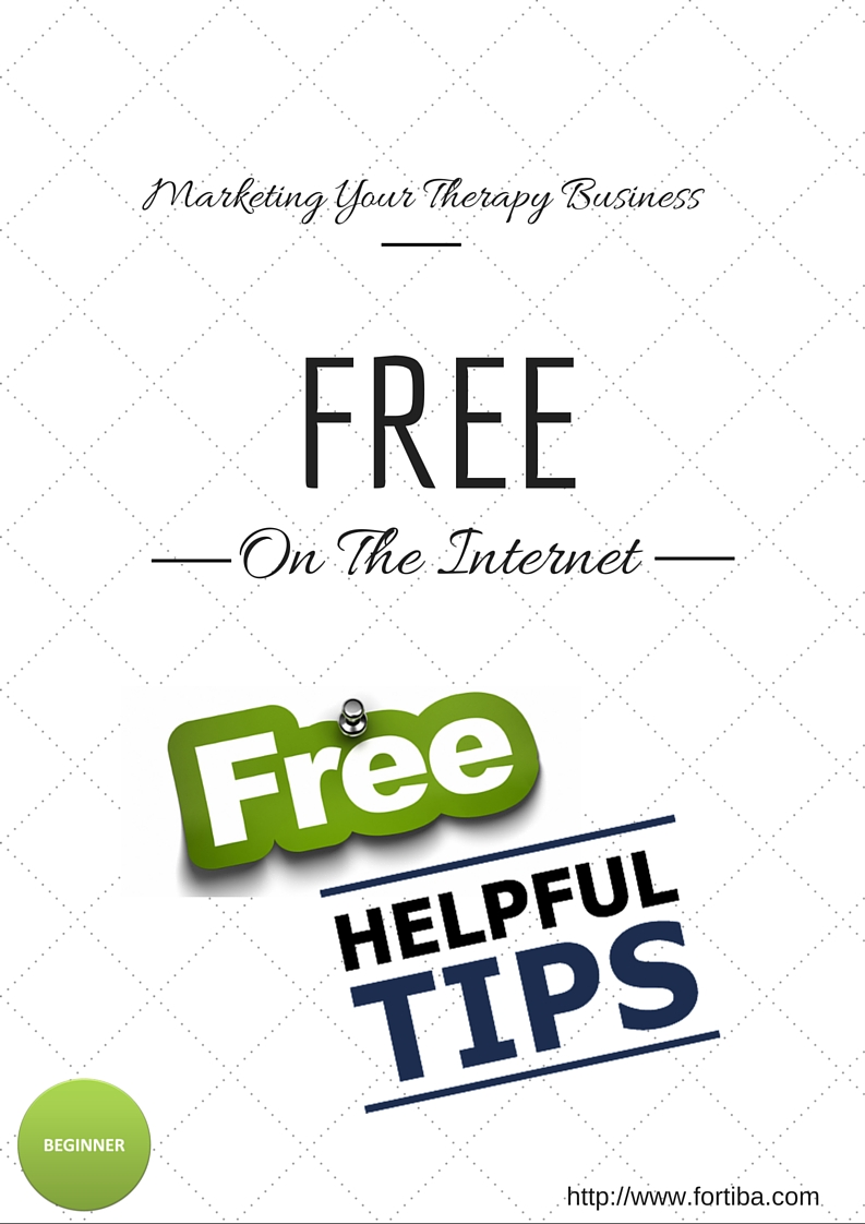 Therapy Marketing Free On The Internet
